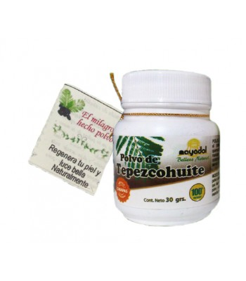 Tepezcohuite powder; a styptic and skin healing and regenerator