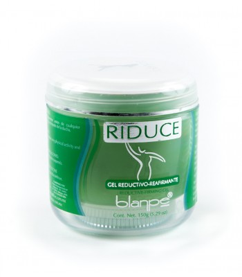 Blanpe Natural Firming and Reductive Body Gel with Asian Flash, Lipocaffeine, Seaweed and Menthol