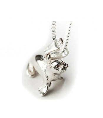 Sterling Silver Seal Pendant with Chain
