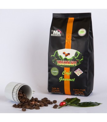 Yashalum, Mexican Chiapas, Gourmet, Toasted, Whole Bean Coffee, 8.81 oz.